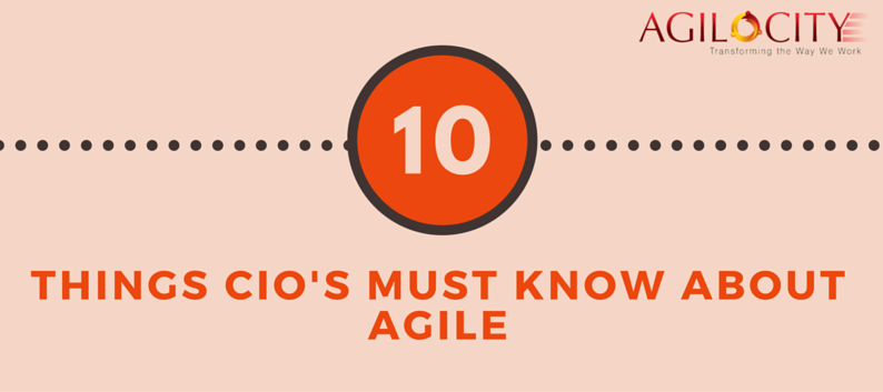 Gartner's List of Top 10 Things CIO's Must Know about Agile
