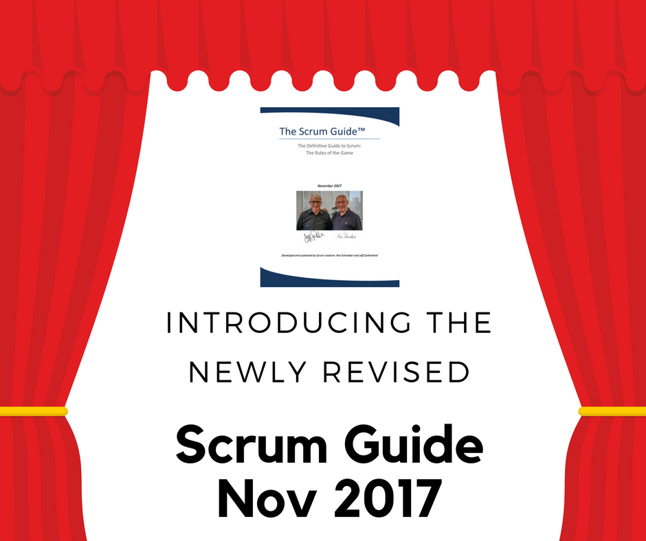 revised scrum guide 2017